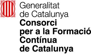 Generalitat Logo CONSORCI PER A LA FORMACIÓ CONTÍNUA DE CATALUNYA