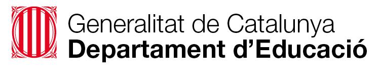 Logo Departament Educació Generalitat